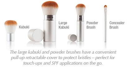 priori makeup kabuki brushes